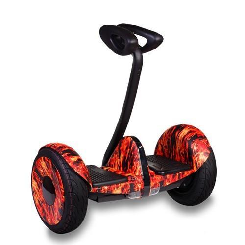 Гироскутер мини-сигвей Ninebot Mini Robot Красный огонь. Гироборд гироскутер Найнбот мини пламя
