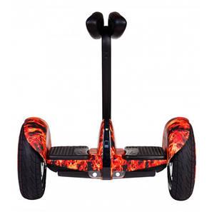 Гироскутер мини-сигвей Ninebot Mini Robot Красный огонь. Гироборд гироскутер Найнбот мини пламя, фото 2