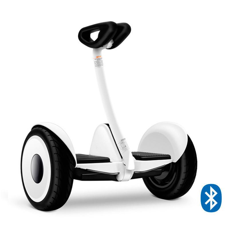 Мини сигвей гироскутер Ninebot Mini Robot 54V Белый (White). Міні-сігвей гіроскутер Білий. Найнбот мини Робот