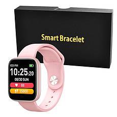 Фитнес-браслет Apple band T85, pink, фото 3