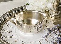 Посеребренный соусник, серебрение, серебрение, мельхиор, Англия, The cutlers company, фото 1