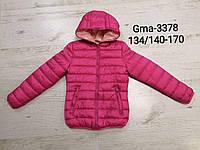 Куртка двухсторонняя для девочек оптом, Glo-story, 134/140-170 см, № GMA-3378