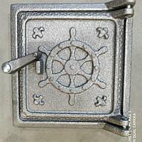 "Сажатруска чугунная дверка (Т2) 130""135 мм ( вес -2 кг) Нептун, фото 1"