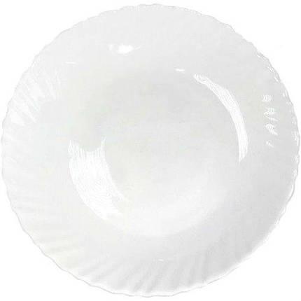 Тарелка десертная 19 см Волна Vittora VT-1190W, фото 2