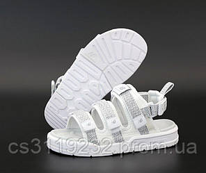 Мужские сандали New Balance Textile Sandals (белые) рефлектив
