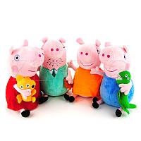 "Комплект мягких игрушек ""Свинка Пеппа"" 22 см"