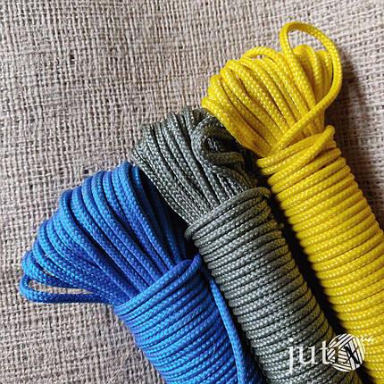 Шнур полипропиленовый (плетеный) 3 мм - 200 метров, фото 2