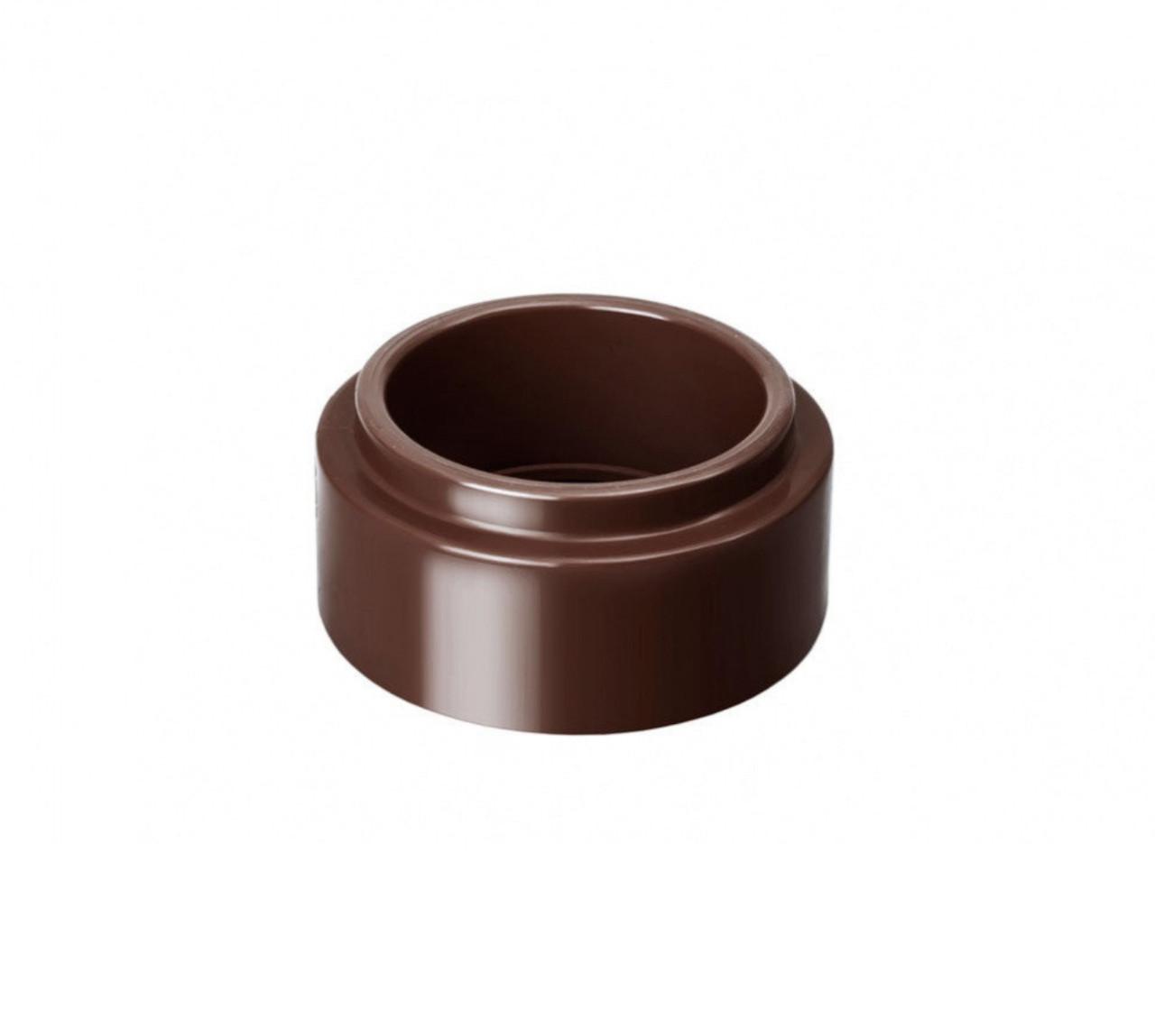 Адаптер трубы коричневый Ø100-75  130/100 RainWay