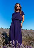 Платья  12083  XXL темно-синий S, фото 2