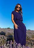 Платья  12083  XXL темно-синий S, фото 3