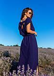 Платья  12083  XXL темно-синий S, фото 4