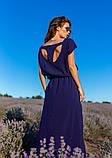 Платья  12083  XXL темно-синий S, фото 5