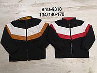 Куртка двухсторонняя для мальчиков оптом, Glo-story, 134/140-170 см,  № BMA-9318