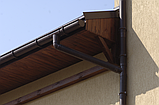 Хомут для трубы 110 мм металлический коричневый 130/100 RainWay, фото 10