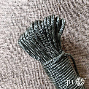 Шнур полипропиленовый (плетеный) 3 мм - 200 метров Хаки