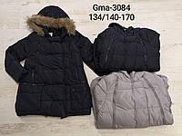 Куртка утепленная для девочек оптом, Glo-story, 134/140-170 см,  № GMA-3084