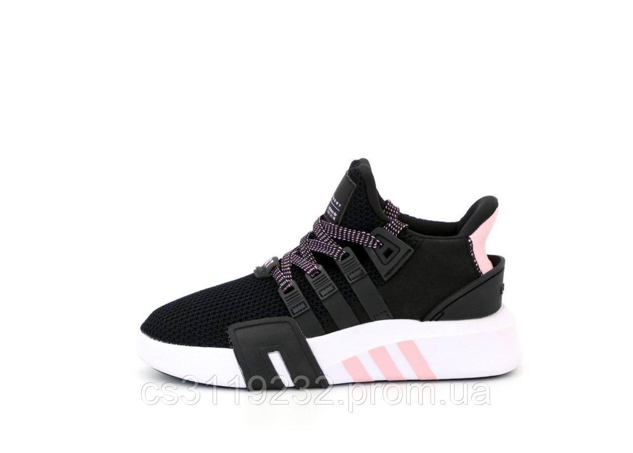 Женские кроссовки Adidas EQT (черные)
