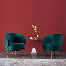Кресло Сильвия (Изумруд), фото 3