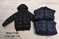 Куртка утепленная для мальчиков оптом, Glo-story, 134/140-170 см,  № BMA-2738
