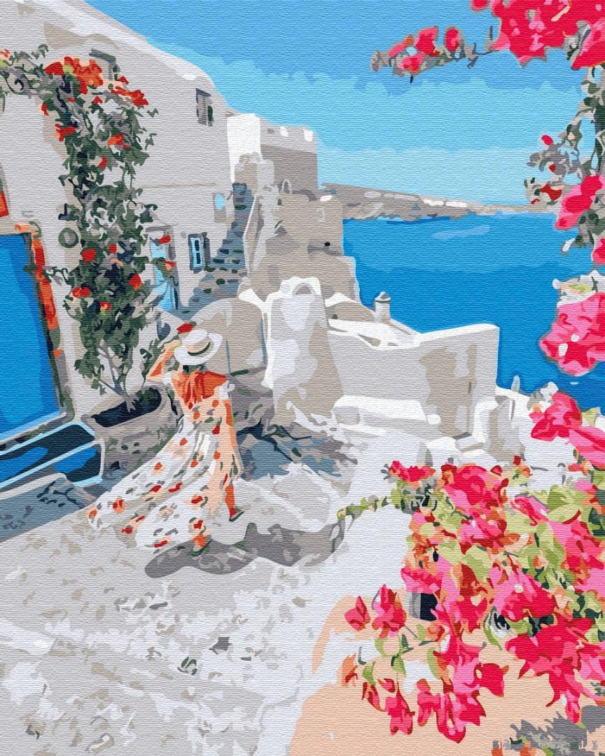 Картина по номерам Солнечная Греция