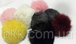 Меховый брелок-шарик разноцветный BRLS-10G 1шт