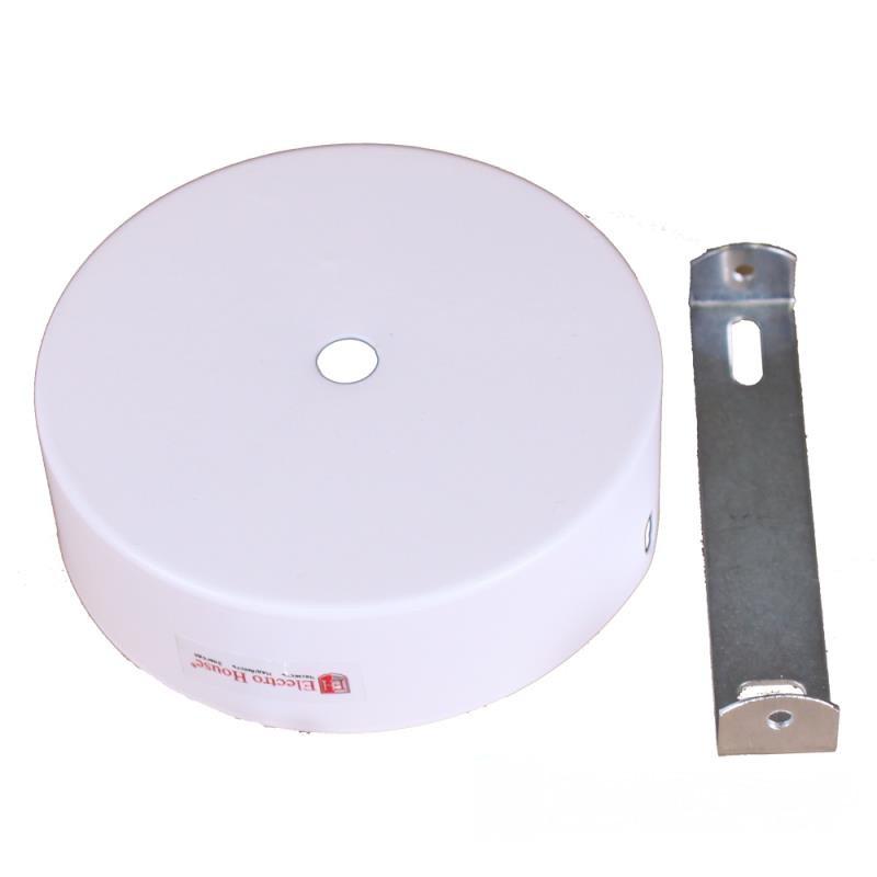 ElectroHouse Настенное крепление белое для трекового LED светильника 15W