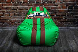 Бескаркасное кресло мешок диван Minecraft, Майнкрафт