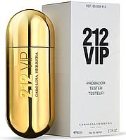ТЕСТЕР Женские духи  Carolina Herrera 212 VIP Gold 80 ml  ( Каролина Эррера 212 Вип Голд )