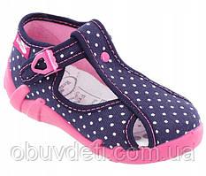 Босоніжки -тапочки для дівчаток Renbut 24-15.5 см