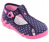 Босоніжки -тапочки для дівчаток Renbut 25-16.0 см, фото 1
