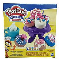 Игровой набор пластилина Play-Doh Выпечка и пончики. Оригинал Hasbro E3344
