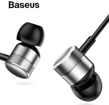 Наушники Baseus Encok H04 фирменные оригинальные наушники с микрофоном Цвет Серебристый