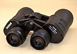 Бинокль 20x50 прорезиненный корпус 20 крат с чехлом оптика для наблюдения Bushnell 2675-3, фото 4