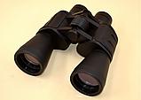 Бинокль 20x50 прорезиненный корпус 20 крат с чехлом оптика для наблюдения Bushnell 2675-3, фото 5