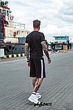 Костюм мужской футболка и шорты летний костюм adidas размеры:48, 50, 52, 54, фото 6