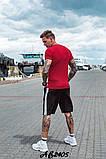 Костюм мужской футболка и шорты летний костюм adidas размеры:48, 50, 52, 54, фото 5