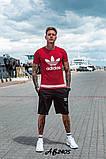 Костюм мужской футболка и шорты летний костюм adidas размеры:48, 50, 52, 54, фото 2