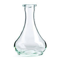 Колба для кальяна - форма Капля Дроп (27 см), Drop прозрачная
