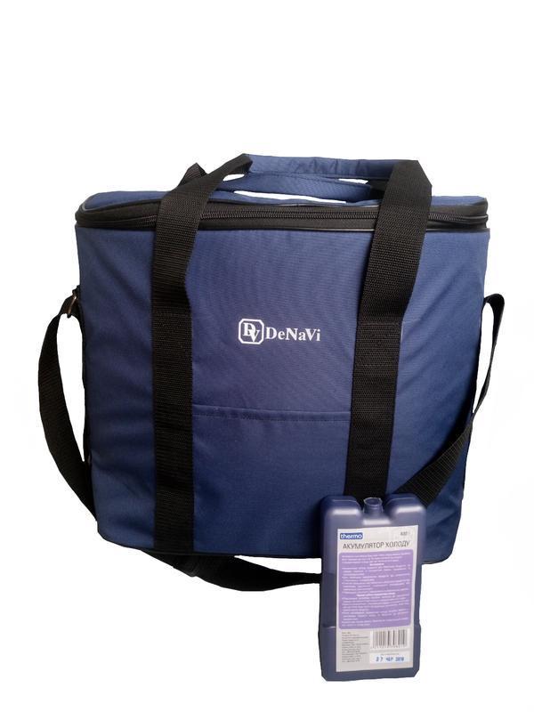 Термосумка, сумка-холодильник 18 литров с аккумулятором холода в комплекте