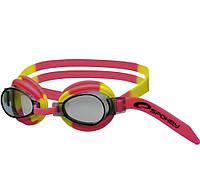 Очки для плавания детские Spokey JELLYFISH, розовые с желтым