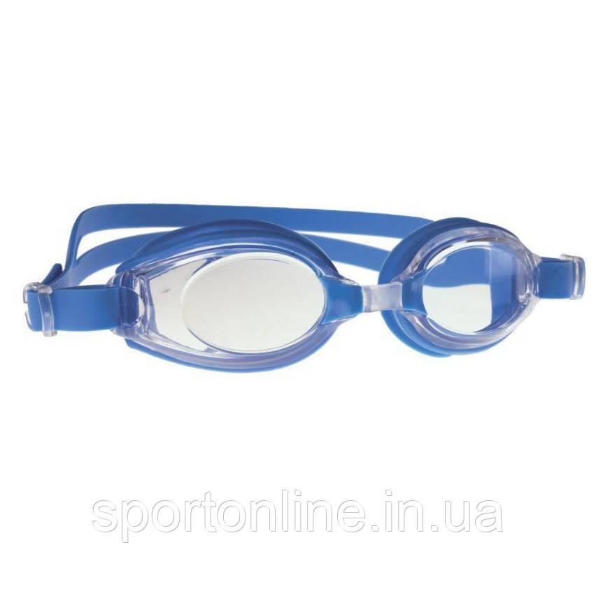 Очки для плавания Spokey DIVER CLEAR, голубые