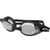 Очки для плавания Spokey DIVER, зеркальные, черные