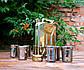 Подарочный набор Дозаправка №1 - золотая канистра и 6 рюмок (305), фото 6
