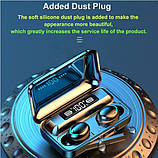 Беспроводные наушники TWS F9-5С Черные Bluetooth  сенсорные HD Stereo Heavy Bass PowerBank., фото 3