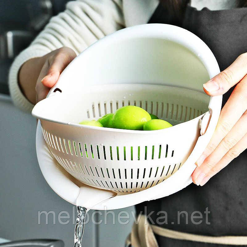 Сито дуршлаг для промывки круп и овощей