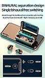 Беспроводные наушники TWS F9-5С Черные Bluetooth  сенсорные HD Stereo Heavy Bass PowerBank., фото 9