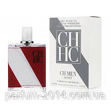 Чоловічий парфум тестер кароліна еррера спорт CH Men Sport Carolina Herrera (репліка) парфуми запах аромат