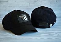 Женская кепка-бейсболка Philipp Plein Филип Плейн черная (реплика)