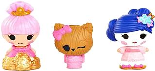 Набор с куклами КРОШКАМИ LALALOOPSY Юки Сакура и Принцесса