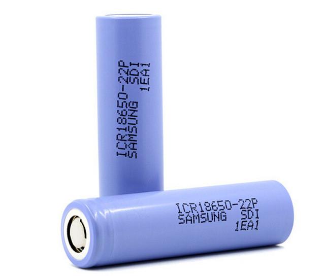 Аккумулятор Samsung 18650 Li-IonICR18650-22P 2200mAh 10A 4.2